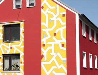 Fassadensanierung Hof