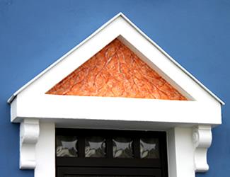 Hof Sanierung Fassade